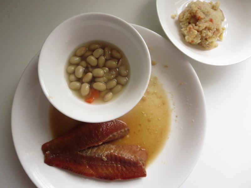 わんまいる 冷凍弁当 魚の骨取り済み 豆の和食