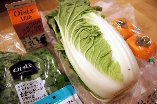 oisix(オイシックス)お試しセットに入ってた白菜 サラダに最適