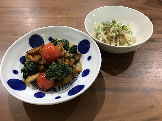 大地を守る会お試しセット主菜と副菜が20分で作れるおやさいdeli kit(3人前)緑黄色野菜の甘酢漬けメニュー完成写真