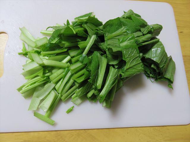 らでぃっしゅぼーやの小松菜