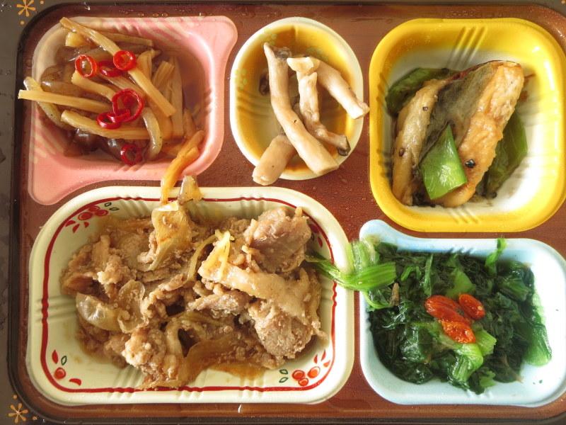 食宅便で糖質制限ダイエット 低糖質セレクト 豚肉の生姜煮と鯖のゴマだれ