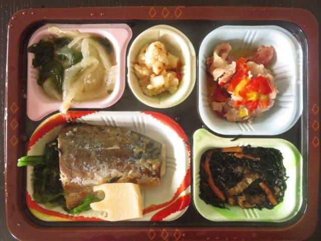 食宅便 低糖質セレクトで糖質制限ダイエット 鯖の塩焼きと豚肉のハーブ添え
