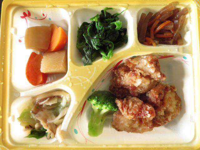 ニチレイ 糖質を控えたい方冷凍弁当 丸大豆醤油仕立ての鶏からあげとおかず5種