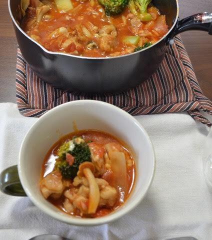 ヨシケイLovyu(ラビュ)ハーブチキンのチーズトマト鍋