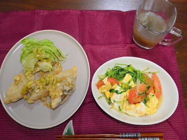 ヨシケイLovyu白身魚とレタスの葱じょうゆ