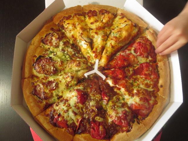 ピザハット ピザを半額で購入