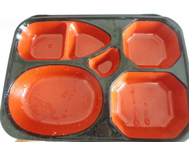 ワタミの食宅 お弁当箱は水洗い