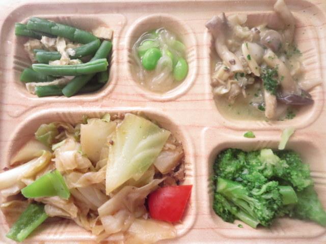 食宅便 低糖質セレクト 回鍋肉とあさりのオリーブオイル炒め