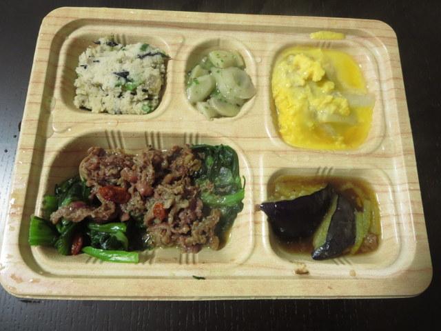 食宅便 低糖質セレクト  牛肉のXO醤炒めとツナと白菜の卵とじ