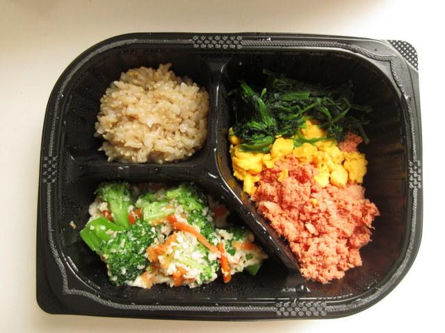 マッスルデリ サーモンの三食丼セット LEAN