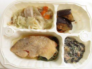 つるかめキッチンの「糖質制限気づかいご膳」赤魚の塩麹焼き弁当
