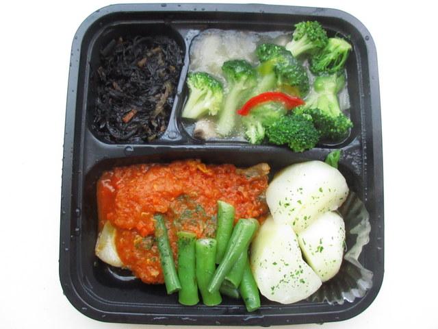 阪急のグッドミールラボ(Good Meal Lab.) 豚肉のソテー ディアブルソース