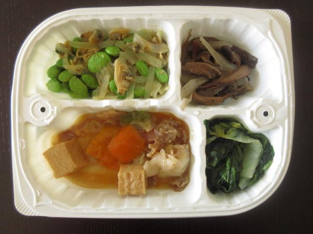 いたわり食堂 家常豆腐弁当