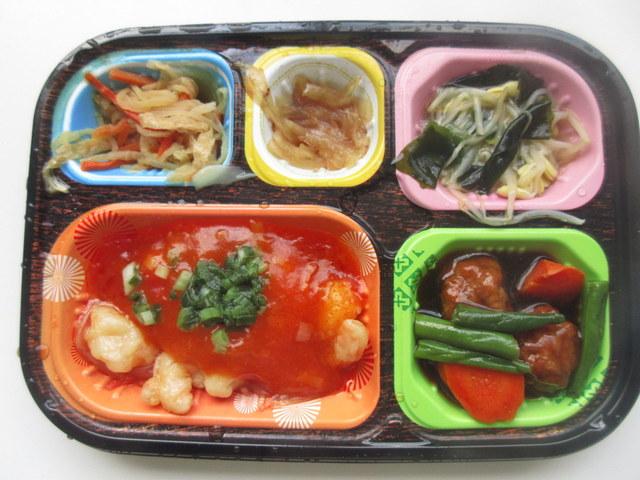 ワタミの宅食冷凍弁当「いつでも五菜」 えびチリ