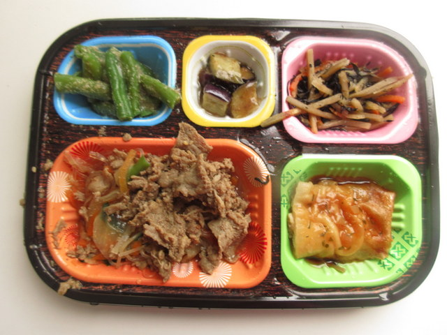 ワタミの宅食冷凍弁当「いつでも五菜」 牛肉のチャプチェ風