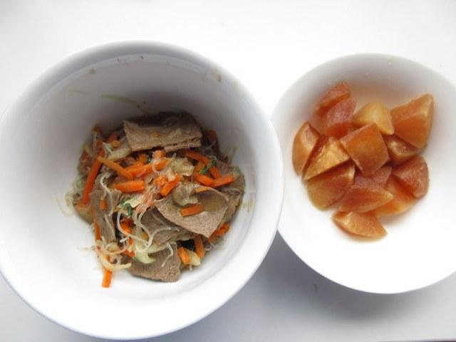 ウェルネスダイニング 糖質制限料理キット 彩りチャプチェと大根の中華煮