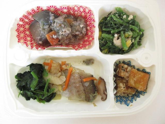 メディミール バランス健康食 たらと野菜のしょうが蒸し弁当